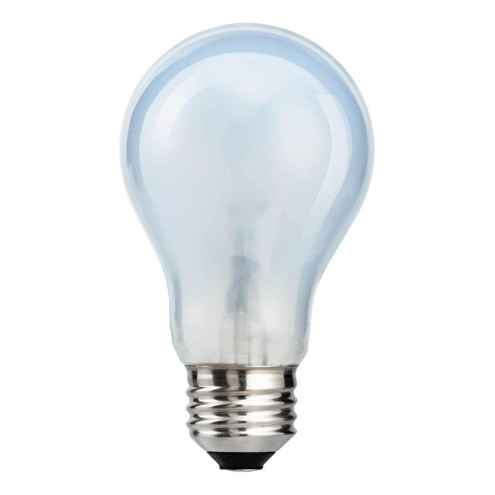 Ecosmart 100 Watt Equivalent Soft White A19 Natural Light Bulb 4 Pack 304089 The Home Depot