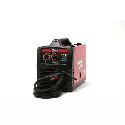 125 Amp Weld-Pak 125 HD Flux-Cored Welder with Magnum 100L Gun, Flux-Cored Wire, 115V