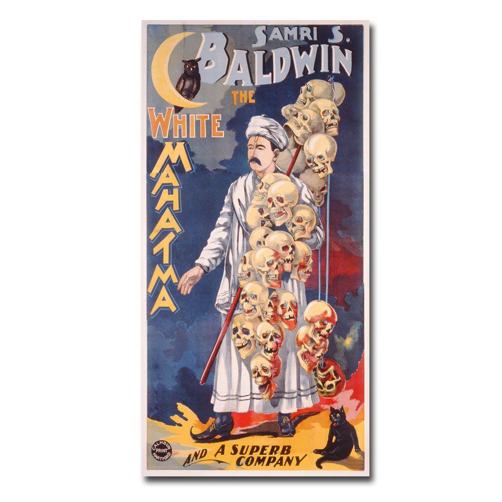 16 in. x 32 in. Samri S.Baldwing the Whie Mahatma 1888