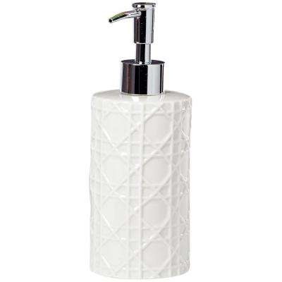 Pisa Lotion Dispenser in White