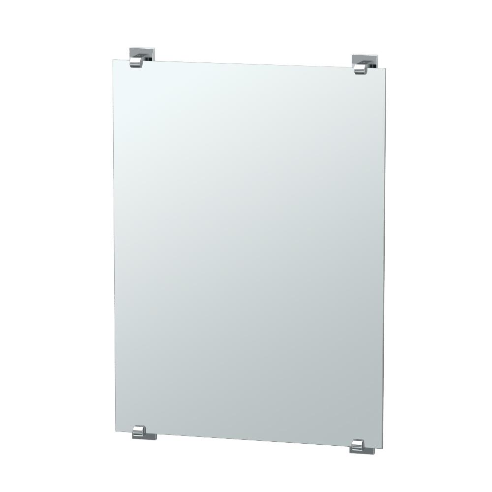 Gatco Elevate 32 in. x 22 in. Frameless Mirror in Chrome