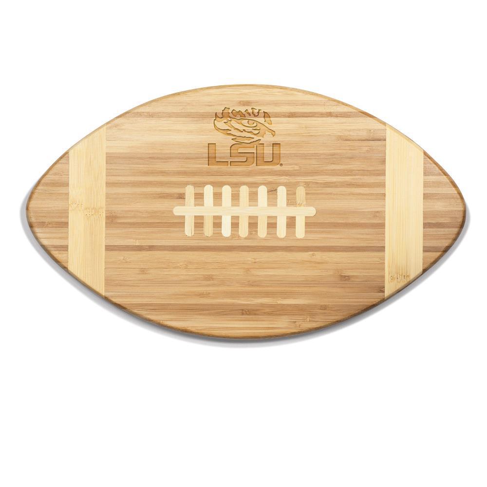 LSU Tigers Touchdown Bamboo Cutting Board
