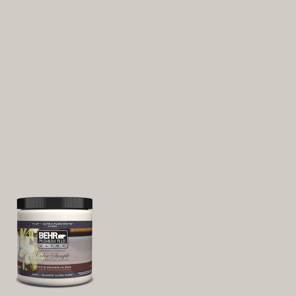 BEHR Premium Plus Ultra 8 oz. #UL260-12 Burnished Clay Interior/Exterior Paint Sample