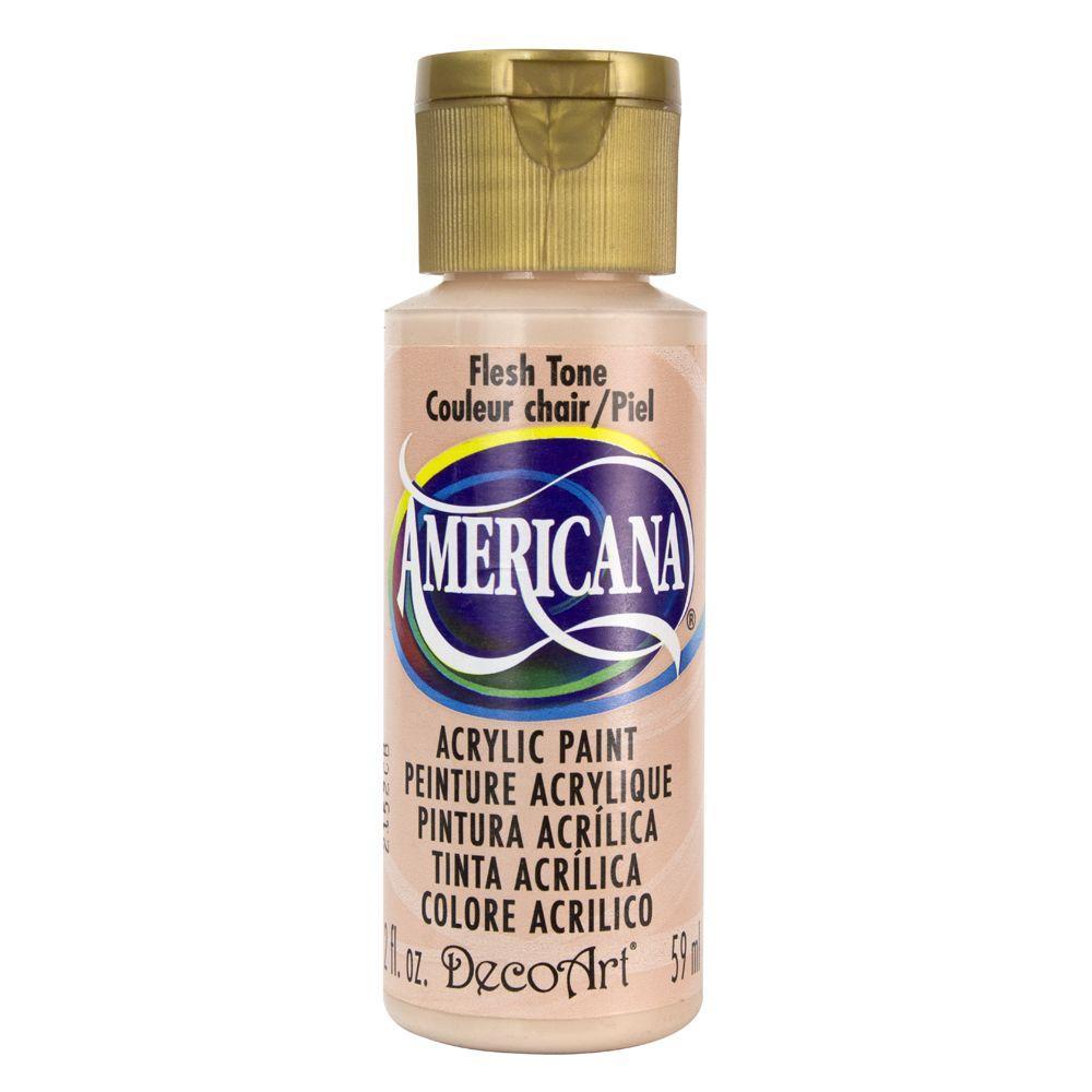 Americana 2 oz. Flesh Tone Acrylic Paint