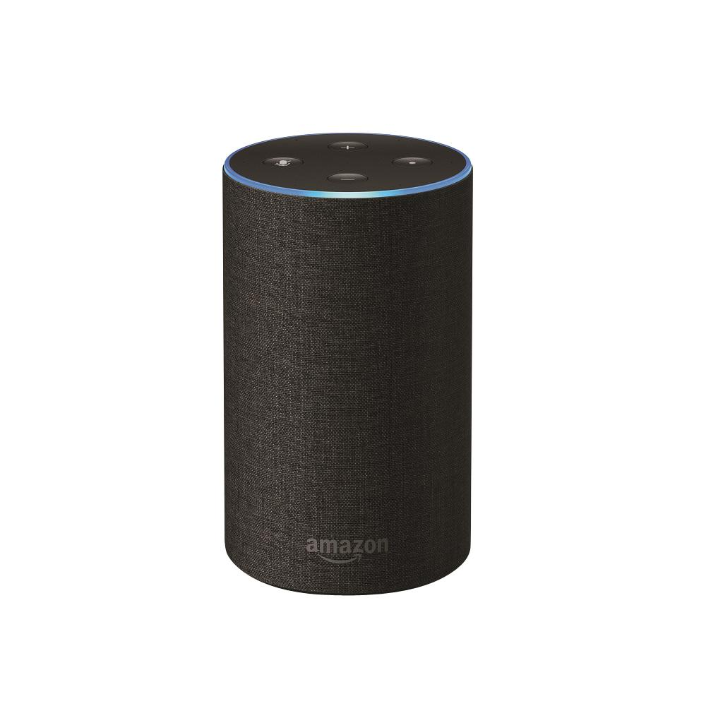 amazon echo charcoal fabric b06xcm9lj4 the home depot. Black Bedroom Furniture Sets. Home Design Ideas