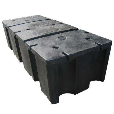 24 in. x 60 in. x 16 in. Foam Filled Dock Float Drum