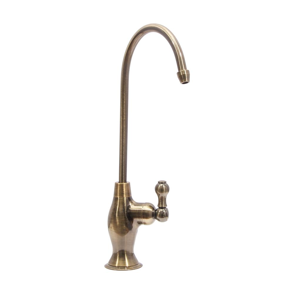 Replacement Single-Handle Drinking Water Filtration Faucet in Brass ...