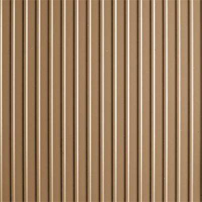 Rib 7.5 ft. x 17 ft. Sandstone Vinyl Garage Flooring Cover and Protector