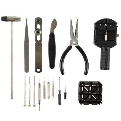 Professional Watch Jewelry Repair Tool Kit (16-Piece)