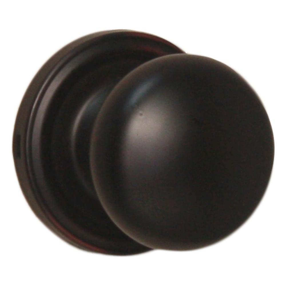 Traditionale Oil Rubbed Bronze Passage Impresa Knob