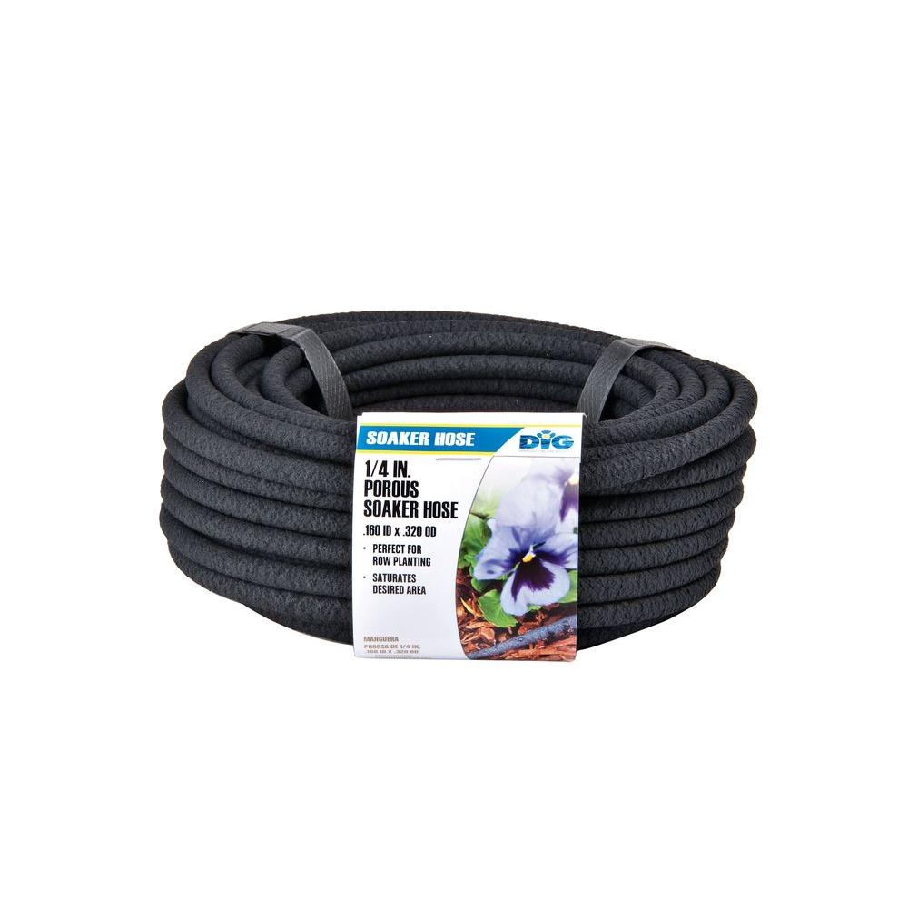 DIG 1/4 in. x 50 ft. Porous Drip Soaker Hose