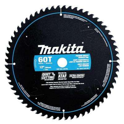 12 in. x 1 in. Ultra-Coated 60-Teeth Miter Saw Blade