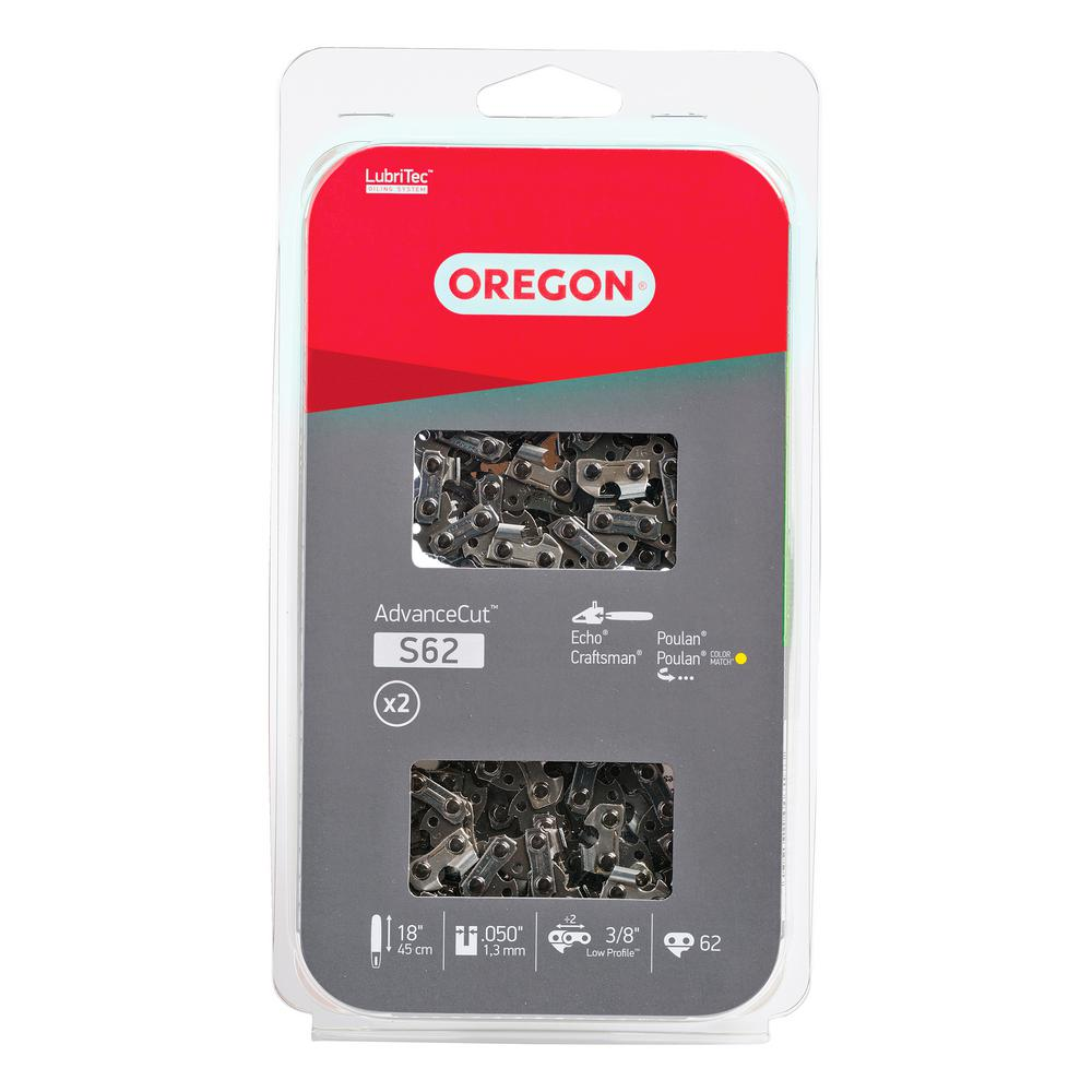 Oregon 18 in. Chainsaw Chain (2-Pack)