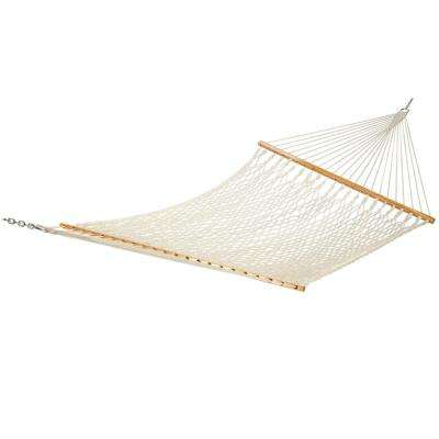 Castaway 13 ft. Cotton Rope Hammock in Natural