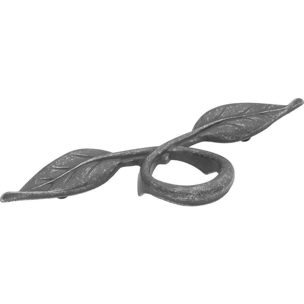 Hickory Hardware Touch Of Spring 3 In. Vibra Pewter Cabinet Pull