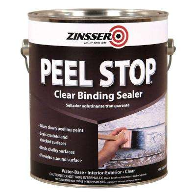 Peel Stop 1 gal. Clear Water-Based Interior/Exterior Binding Sealer (4-Pack)