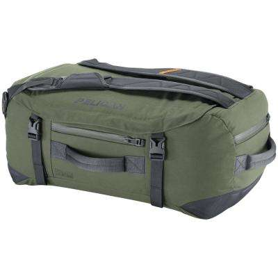 17.32 in. Green Water-Resistant Duffel Bag