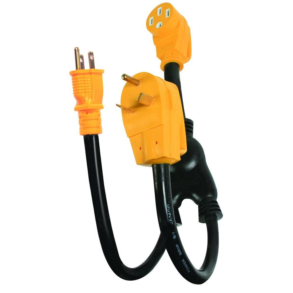camco 50amp power grip power maximizer adapter55025