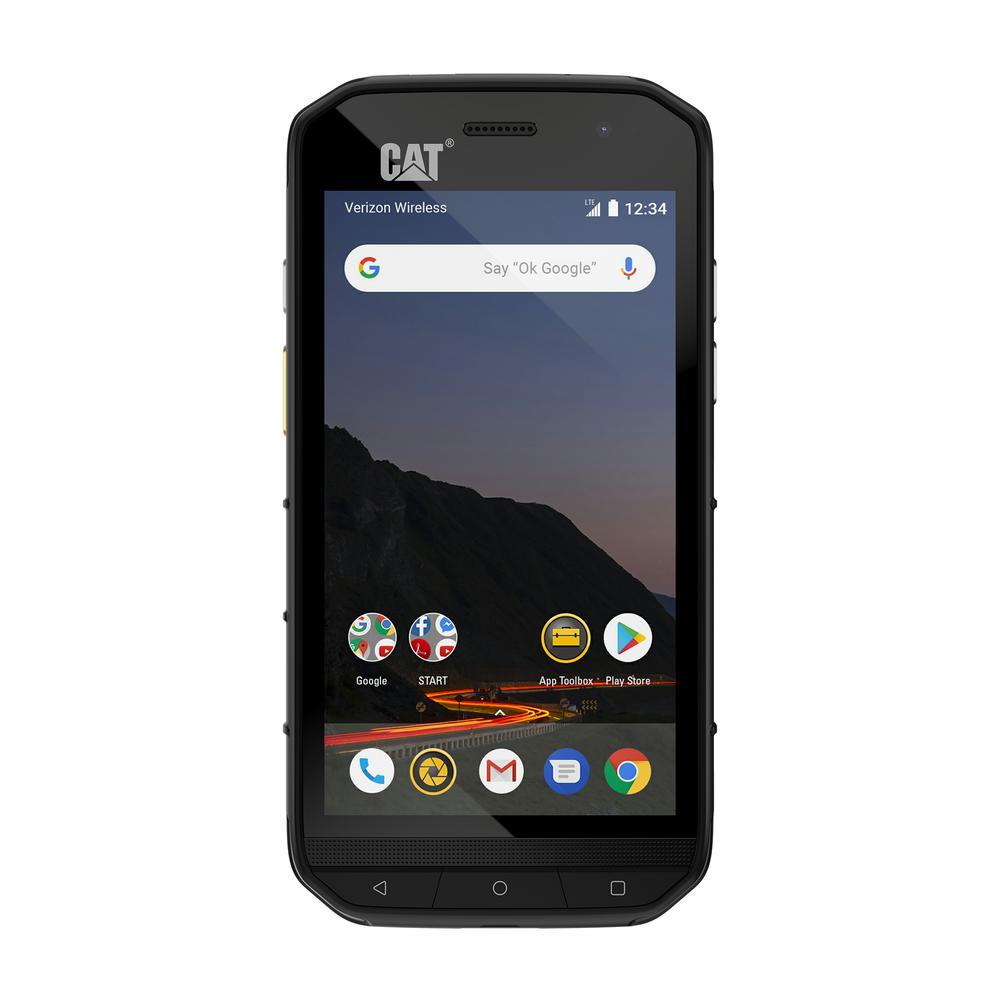 CAT S48C Rugged Waterproof Unlocked Smartphone for the Verizon Network  (CDMA)