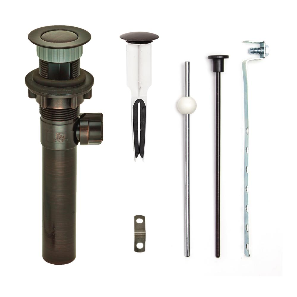 Pf Waterworks 1 25 In Dia Easypopup Drain With Easy