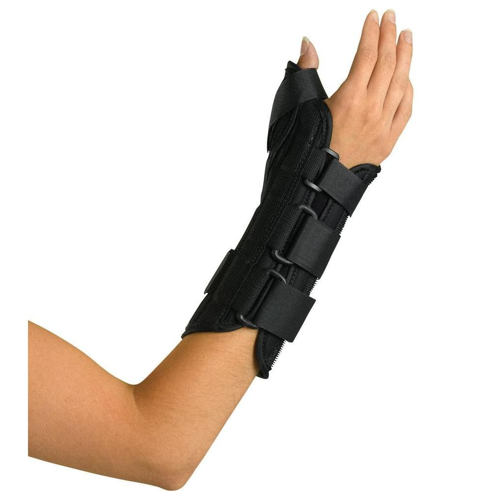 Curad Large Wrist and Forearm Right-Handed Splint with Ab...
