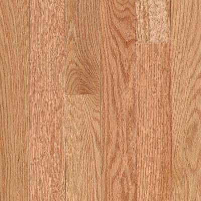 Take Home Sample - Raymore Red Oak Natural Hardwood Flooring - 5 in. x 7 in.