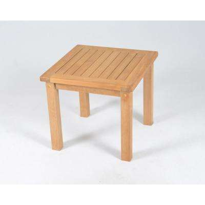 Jakarta Square Teak Outdoor Side Table