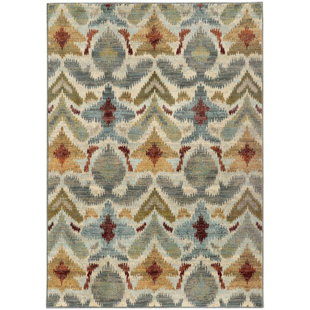 Jules Ivory 1 ft. 10 in. x 3 ft. Area Rug