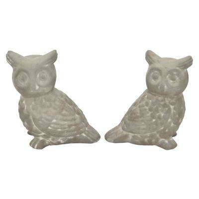 4.5 in. Owl Decoration (Set of 2)