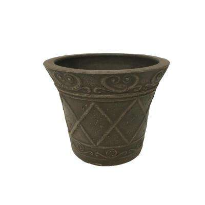 Scroll Grower 5 in. x 4 in. Chocolate PSW Pot
