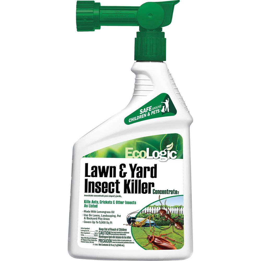 Fly Repellent For Backyard ecologic 32 oz. ready-to-spray concentrate lawn insect killer-hg