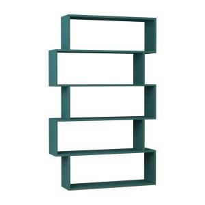Barclay Turquoise Modern Bookcase