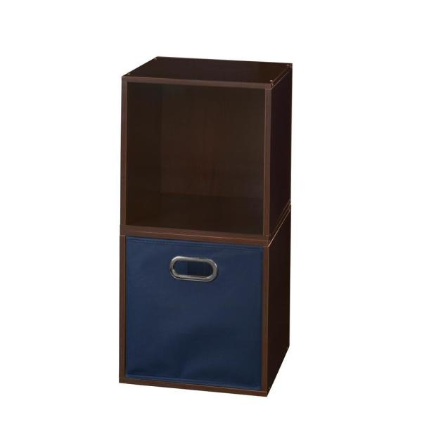 Regency 26 In H X 13 In W X 13 In D Truffle Wood 3 Cube Storage Organizer Hdchpc2pktf1be The Home Depot