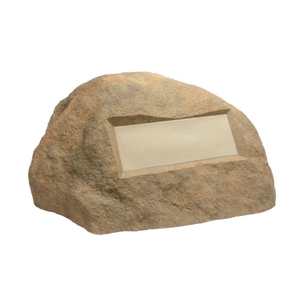 Outdoor Essentials 31 in. x 27 in. x 16.5 in. Tan Address Rock