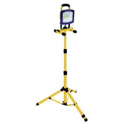 6600 Lumen 72-Watt AC LED Tripod Work Light