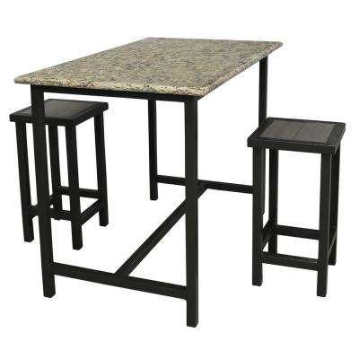 Paradise Luxury Granite Patio Bistro Bar (3-piece)