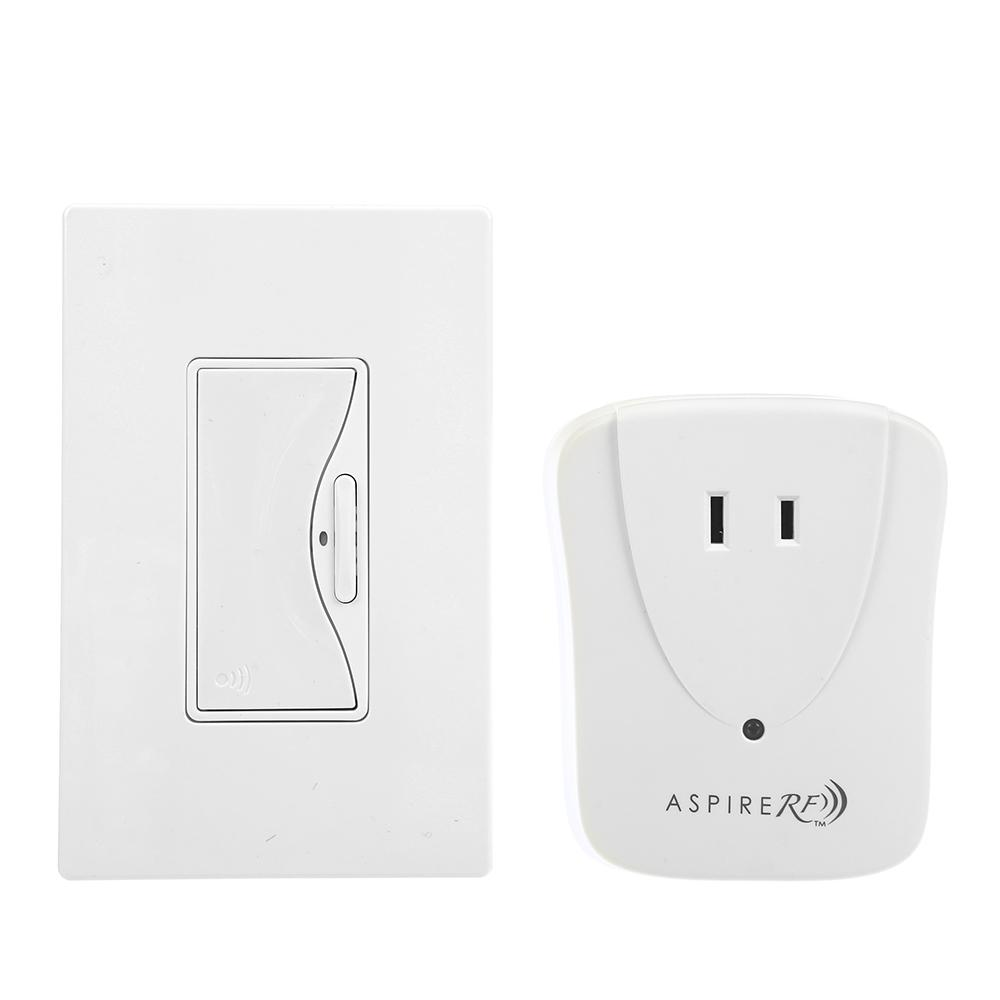 Eaton Aspire Z-Wave Anyplace Kit (RF9575AW Switch and Rfl...