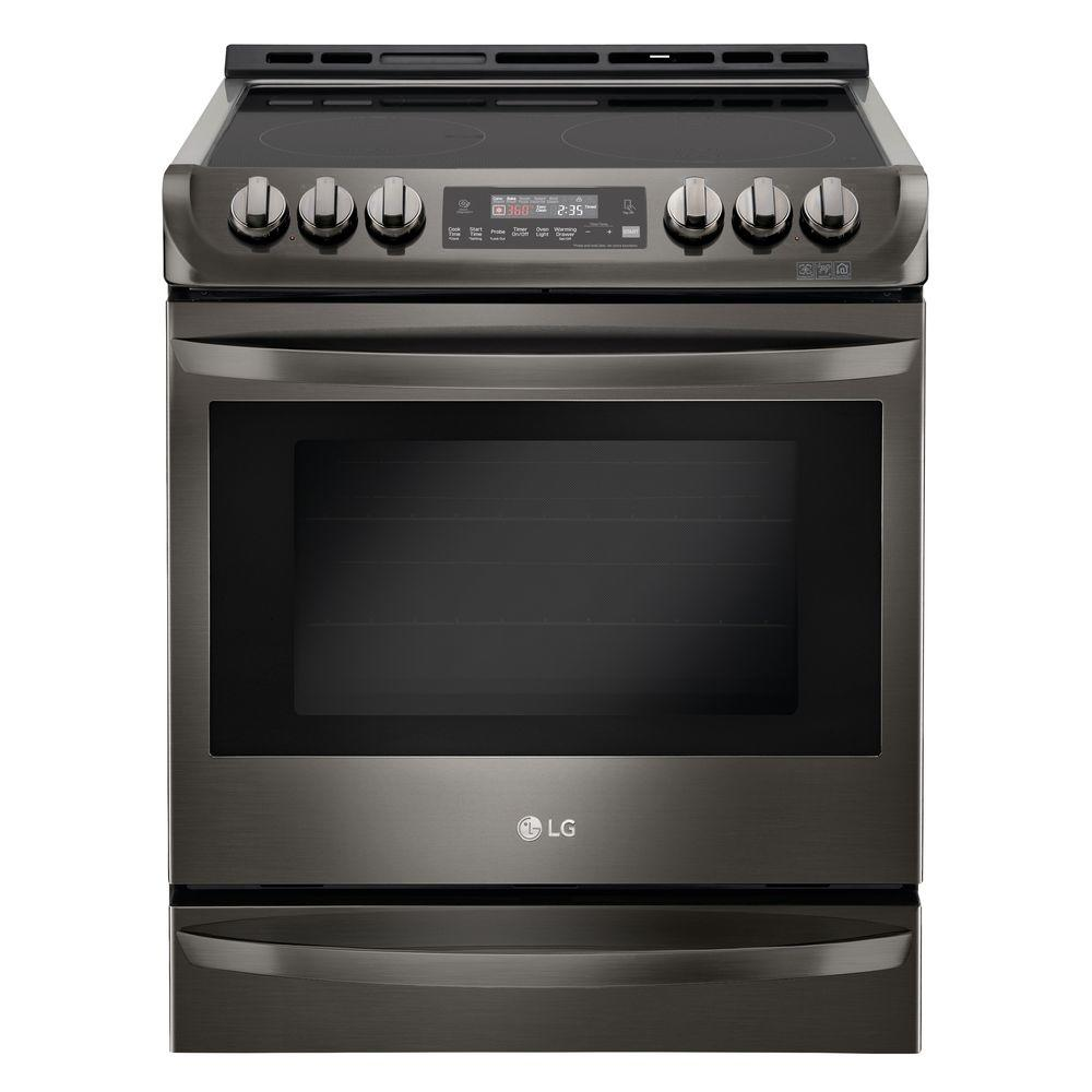 6.3 cu. ft. Slide-In Electric Range with ProBake Convection Oven in