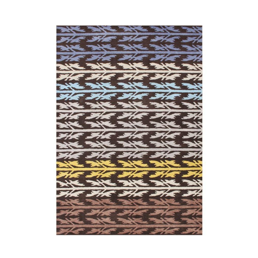 black olive 5 ft x 8 ft handmade area rug 60095 5x8. Black Bedroom Furniture Sets. Home Design Ideas