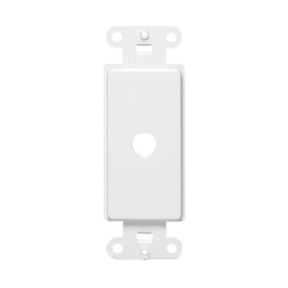 Leviton Decora Plastic Adapter for Rotary Dimmers Fits Over 0.406 in. Dia Shaft, White