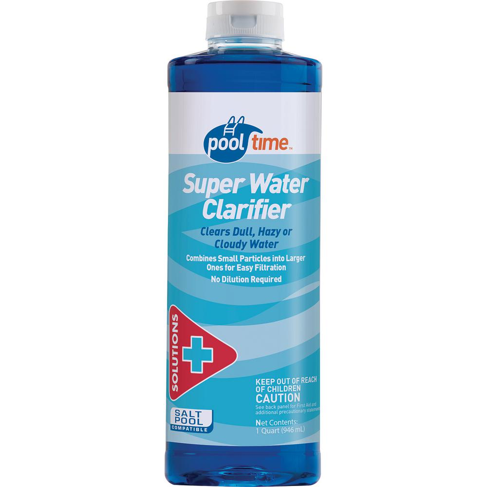 Pool Time 32 Oz Super Water Clarifier 23704ptm The Home