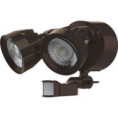 Bronze Outdoor Integrated LED Spot Light