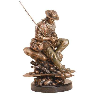 Bliss Fly Fishing Sculpture