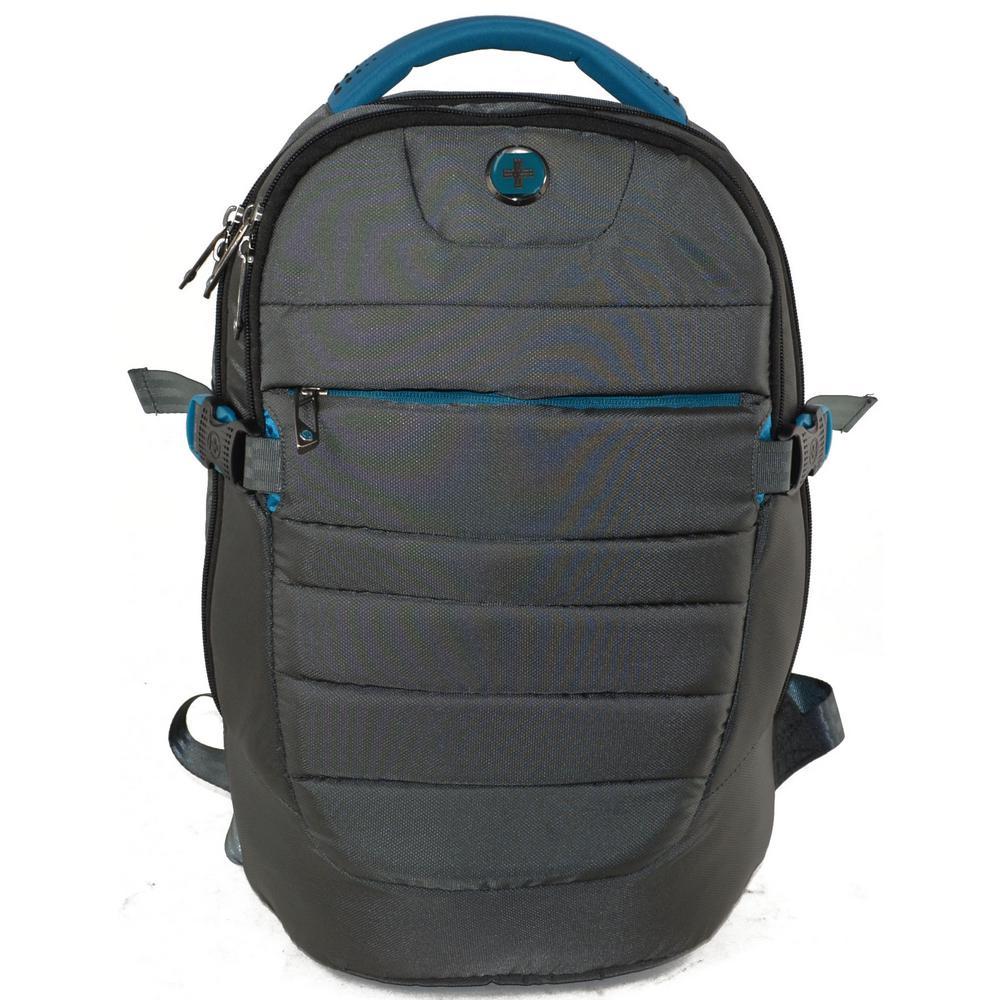 Varsity Collection Widget 18 in. Black Backpack
