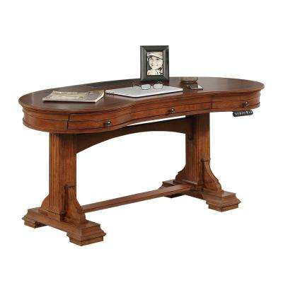 Winsome Burnt Sienna Sit 'N Stand Desk