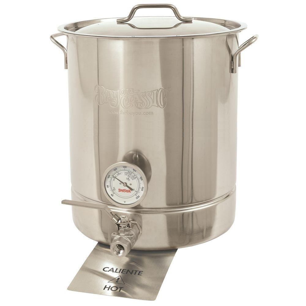 Bayou Classic 16 Gal Stainless Steel Standard Brew Kettle