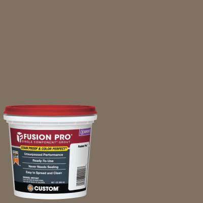 Fusion Pro #544 Rolling Fog 1 qt. Single Component Grout