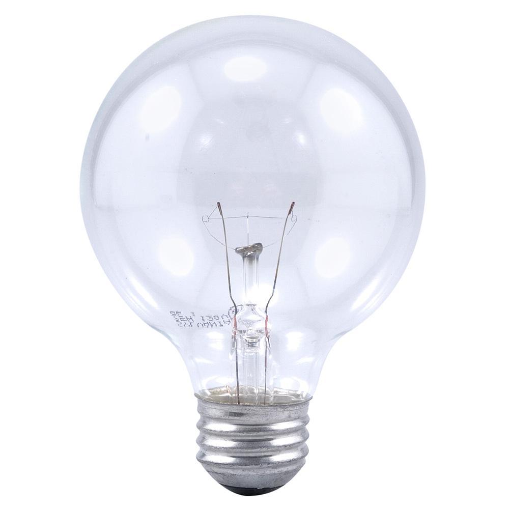 25-Watt Double Life G25 Incandescent Light Bulb (2-Pack)