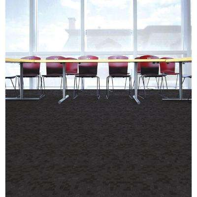 Business Plan Polar Circles Loop 19.7 in. x 19.7 in. Carpet Tile (20 Tiles/Case)