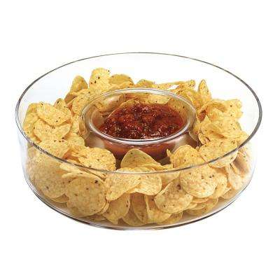11 in. Dia Chip and Dip Manhattan Dish
